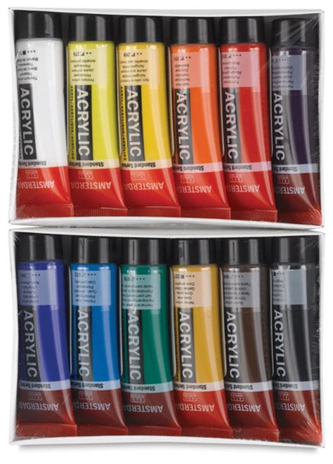 00643 0129 amsterdam standard series acrylics blick materials
