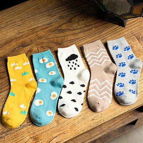 cute patterned socks aliexpress com buy 2015 new fashion women kawaii cartoon