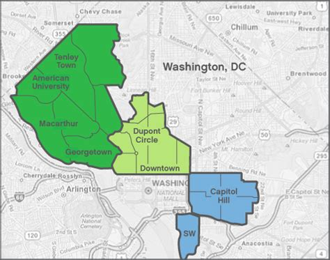 washington dc local map looking for local house cleaning services in washington dc