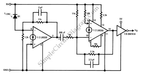 photodiode diagram pics for gt photodiode circuit diagram