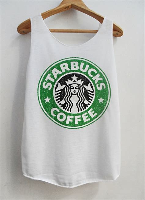 Starbucks Tshirt by Starbucks Singlet White Tshirt Tshirt By Kumajung