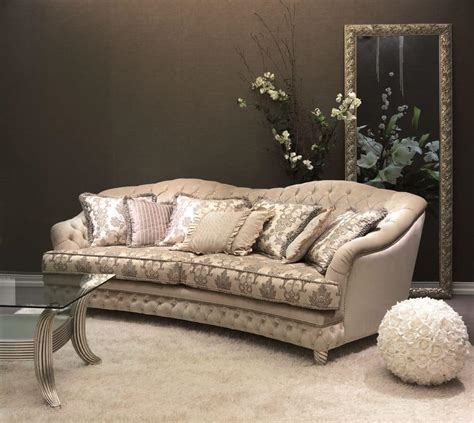 Luxery Sofa by Quilted Sofa For Classic Luxury Living Room Idfdesign