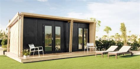 tiny houses prefab vivood prefab tiny house assembles in one day