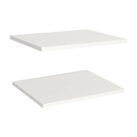 Closetmaid White Shelf Closetmaid Impressions 16 In Shelves In White 2