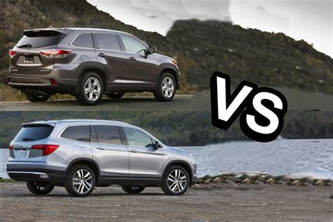 Honda Of Toyota 2015 Toyota Highlander Vs 2016 Honda Pilot Design