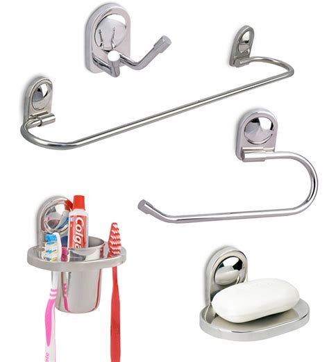 bathroom fixture sets doyours stainless steel bathroom accessories set 5 pieces