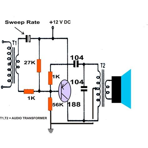 generator capacitor circuit effect of capacitor on generator 28 images ultrasonics electronic canary tutorial circuits