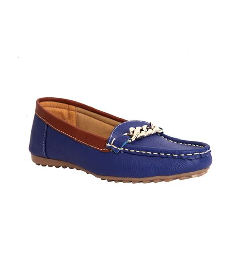 loafers slip on trilokani blue slip on loafers for price in india