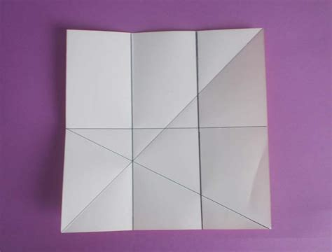 geometry how can a of a4 paper be folded in