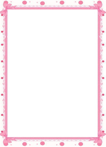 printable postcards with border 6 best images of free printable baby borders and frames