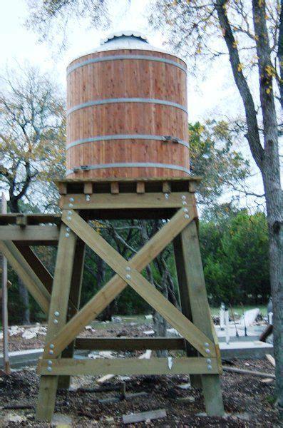 wood water storage tanks  wood  steel tower