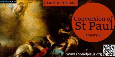 days st paul conversion of st paul of the day january 25 conversion of st paul
