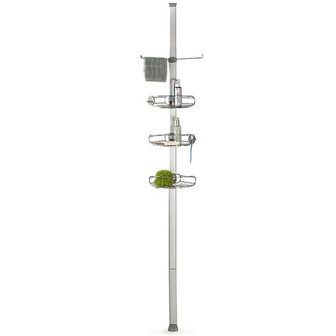floor to ceiling shower caddy simplehuman tension shower caddy organiser with adjustable