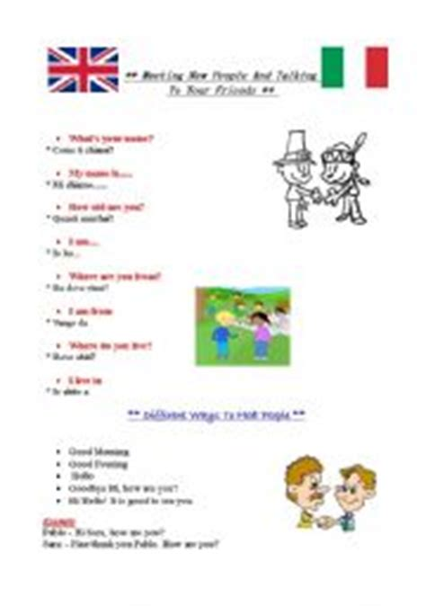 Italian Worksheets For Beginners Printable