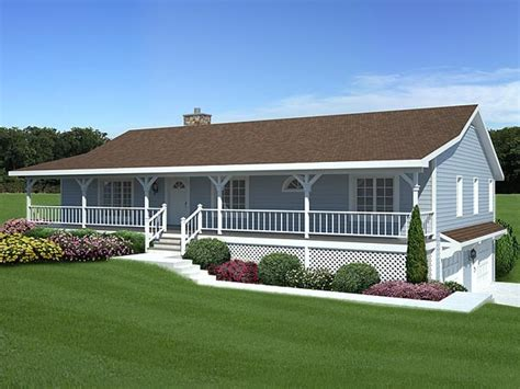 small house with ranch style porch ranch house plans with