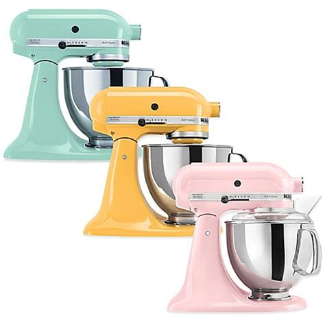 bed bath and beyond mixers kitchenaid 174 artisan 174 5 qt stand mixer bed bath beyond