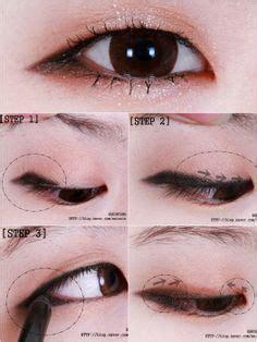eyeshadow tutorial for asian eye shapes monolid makeup on pinterest asian eyes korean makeup