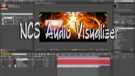 Adobe After Effects Free Template Ncs Audio Visualizer Style Youtube Adobe After Effects Visualizer Template