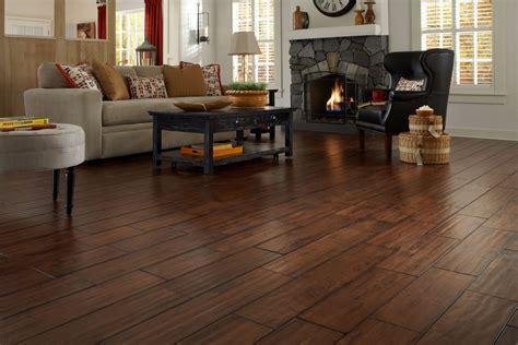 Handscraped Hardwood Flooring   Lumber Liquidators   YouTube