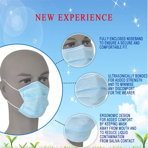 Masker Disposable single use disposable masks for allergies