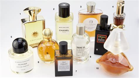 10 Great Perfumes by Top 10 Best Perfumes Luca Turin Scentertainer