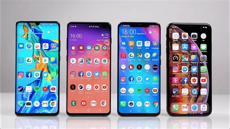 Samsung Galaxy A80 Vs S10 Plus by Huawei P30 Pro Vs Samsung Galaxy S10 Vs Mate 20 Pro Vs Apple Iphone Xs Max Benchmark