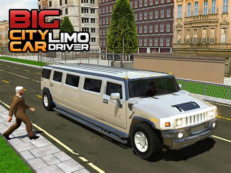 big limousine car big city limo car driving android apps on play
