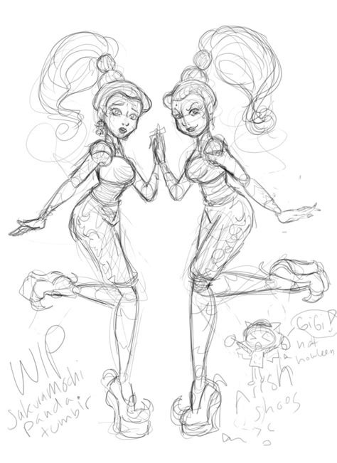 monster high coloring pages 13 wishes gigi wip mh gigi and whisp by i heart link on deviantart