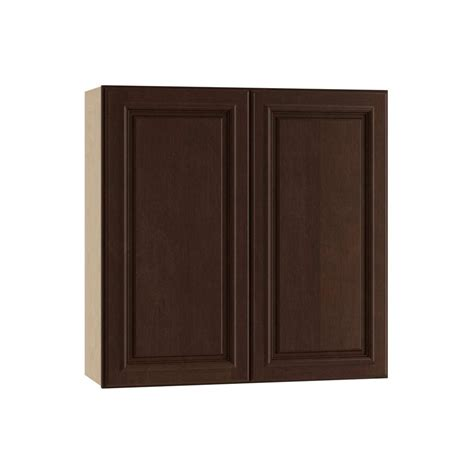 2 Door Wall Cabinet Home Decorators Collection 36x30x12 In Somerset Assembled
