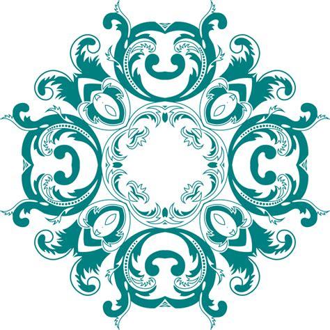 design art png clipart vintage floral style design 6