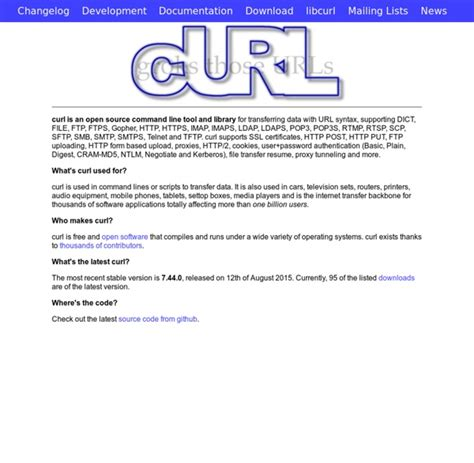Resume Http Curl by Curl And Libcurl Pearltrees
