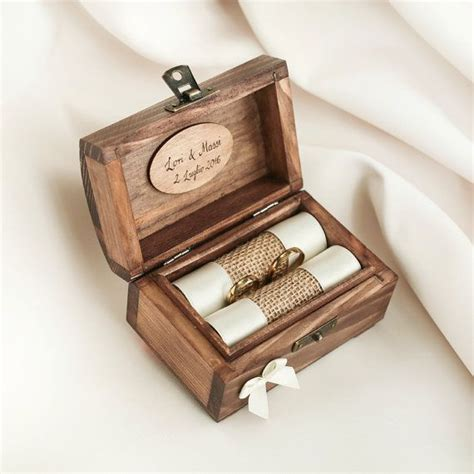 Wedding Box For Rings the 25 best ideas about wedding ring holders on