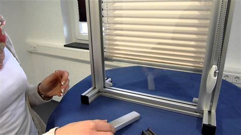 jalousie in der glasleiste rollos ohne bohren jalousie aus aluminium with