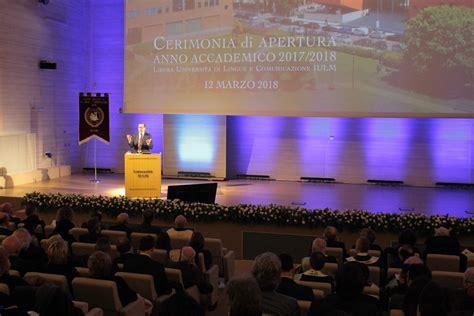 libreria iulm iulm inaugura anno accademico due nuovi corsi di laurea