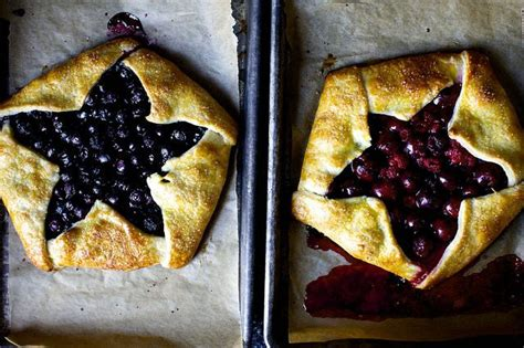 blue and berry ricotta galettes smittenkitchen