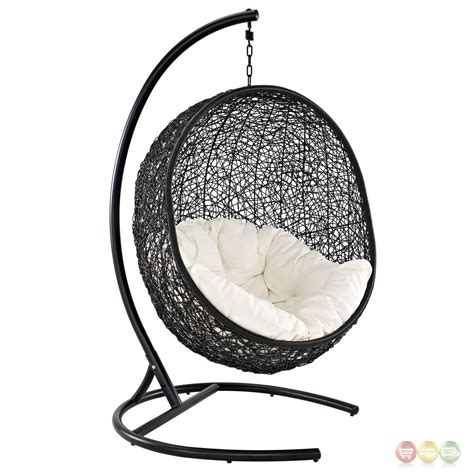 modern outdoor swing chair encase contemporary modern patio swing chair suspension series