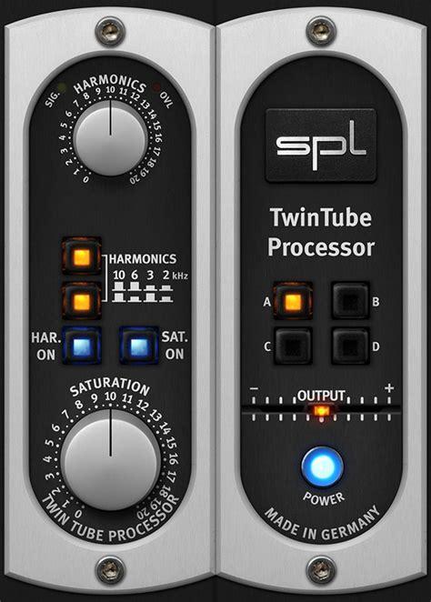 best audio plugins kvr spl twintube by plugin alliance saturation vst