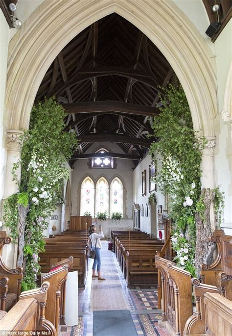 pippa middleton wedding flowers fill church where she wed