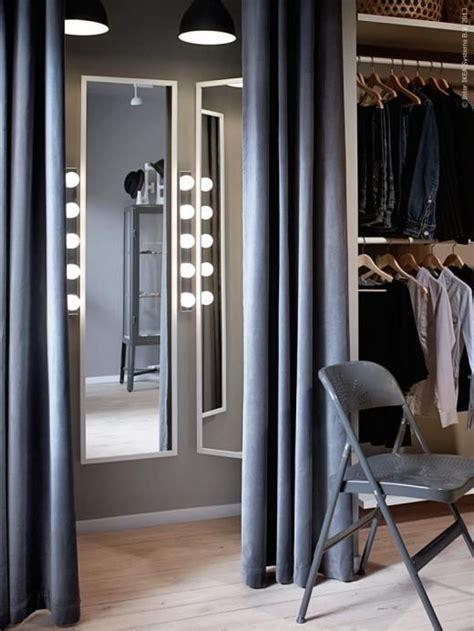 Sanela Curtains Inspiration Fixa Provrummet Med Sanela Gardiner Frode Klappstol Ikea Ikea And Ikea