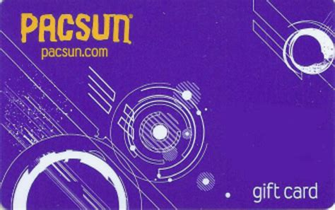 Pacsun Gift Cards - retail clientlink inc