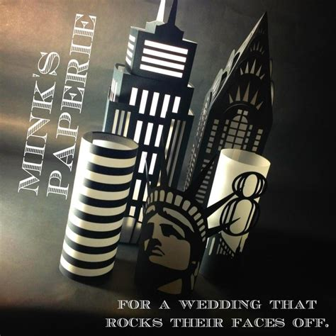 nyc themed wedding decorations coming to mink s paperie in
