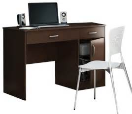 Decorative Desk Fans South Shore Axess Small Computer Desk In Chocolate
