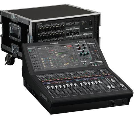 Mixer Yamaha Ql yamaha launches at prolight sound their new digital consoles ql1 and ql5 audiovisual panorama