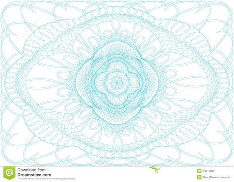 passport pattern vector background for diploma certificate or passport stock