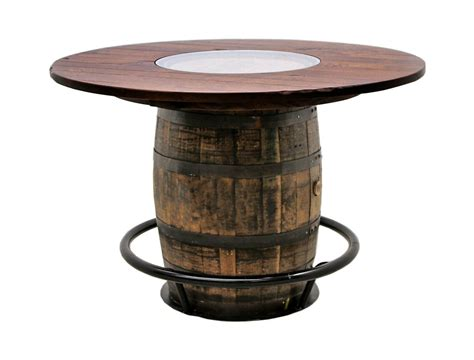 Whiskey Double Barrel Table Dutch Craft Furniture Whiskey Barrel Tables