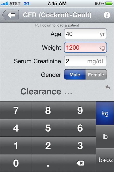 calculator gfr the best free medical calculator apps for the iphone
