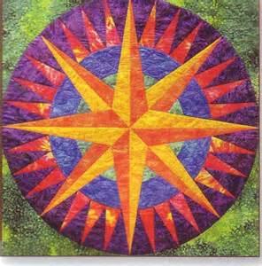 quiltsmart mariners compass paperquilt