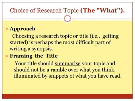 how to write a synopsis for a dissertation synopsis writing