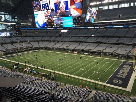 att stadium view from seats at t stadium section 330 dallas cowboys rateyourseats