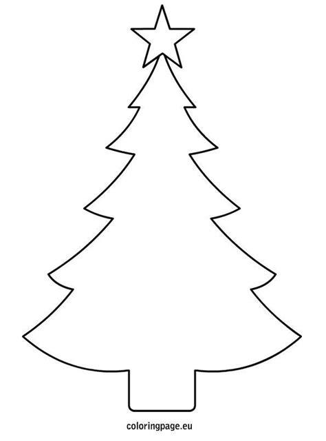 printable christmas tree a3 choinka na szablony zszywka pl